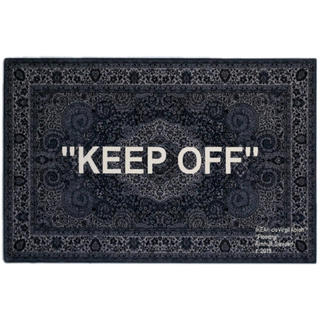 OFF-WHITE - IKEA × Off-White keep off ラグマット 200×300