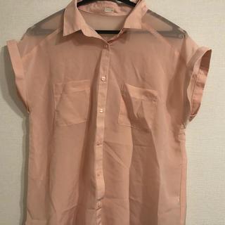 ジーユー(GU)のブラウスシャツ二枚セット(シャツ/ブラウス(半袖/袖なし))