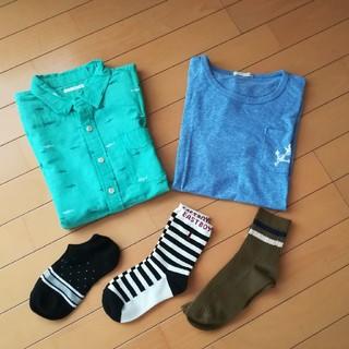 ジーユー(GU)のキッズ☆150cm☆おまとめ売り(Tシャツ/カットソー)