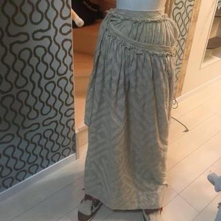 ヴィヴィアンウエストウッド(Vivienne Westwood)のヴィヴィアン ウエストウッド パンカチュア 巻きスカート(ロングスカート)