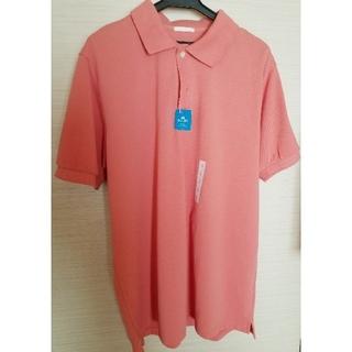 GU - GU 速乾ポロシャツ  サーモンピンク