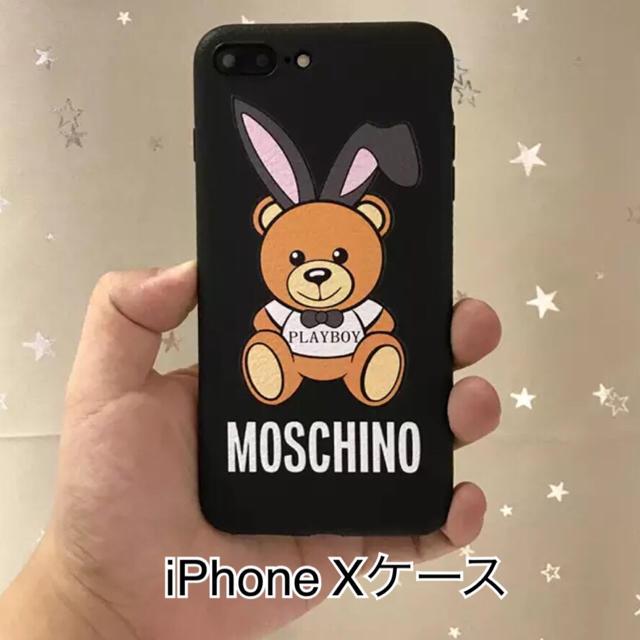 MOSCHINO - iPhone Xケースの通販 by coco♡'s shop|モスキーノならラクマ