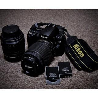 Nikon - デジタル一眼レフ  Nikon D60 ダブルレンズ