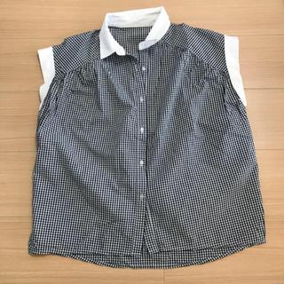 BABYLONE - バビロンストック*ギンガムチェックシャツ 美品 イエナ スピックアンドスパン