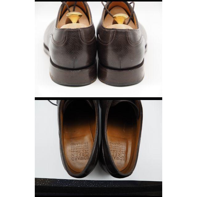 EDWARD GREEN(エドワードグリーン)の【極美品】 EDWARD GREEN エドワードグリーン DOVER 7.5E メンズの靴/シューズ(ドレス/ビジネス)の商品写真