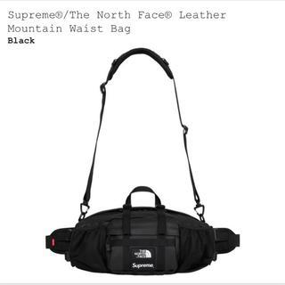 シュプリーム(Supreme)の新品 Supreme North Face Leather Waist Bag(ボディーバッグ)