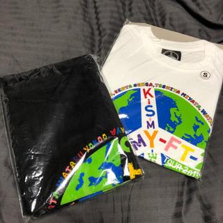 キスマイフットツー(Kis-My-Ft2)のKis-My-Ft2 ライブ Tシャツ タオル(タオル)