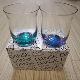 DANSK - DANSK ペアグラス 新品!
