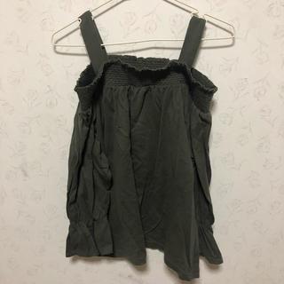 ジーユー(GU)のGU オフショルダー(カットソー(半袖/袖なし))