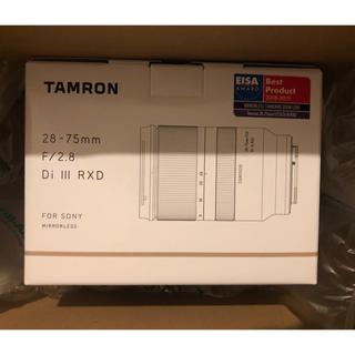 TAMRON - 新品 TAMRON 28-75mm F/2.8 Di III RXD  A036