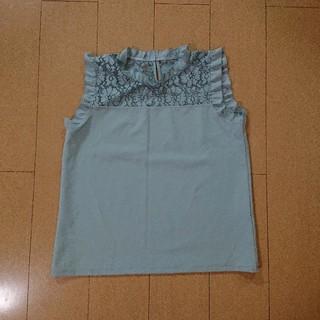 ジーユー(GU)のレーストップス(シャツ/ブラウス(半袖/袖なし))