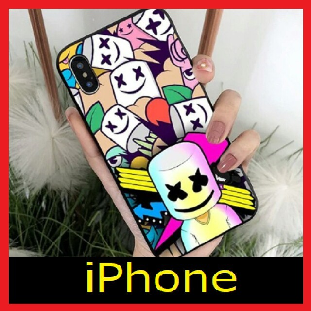 iphone xs max ケース 薄い 、 iPhoneケース マシュメロ♪ 2の通販 by F's shop|ラクマ