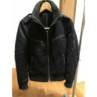シェラック(SHELLAC)の【SHELLAC】(シェラック) ライダースジャケット ブラック 46 riri(ライダースジャケット)