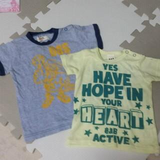 エーアーベー(eaB)の値下げ☆eaB Tシャツ☆二枚セット☆(Tシャツ)