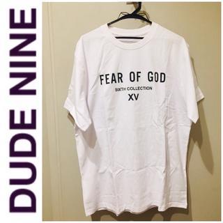 STUD HOMME - 1点限定 dude9  fear of god Tシャツ オーバーサイズ