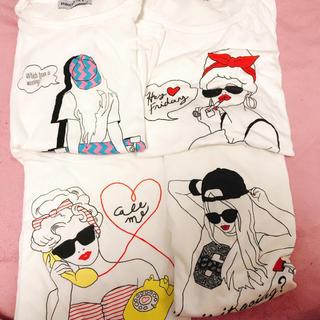 WEGO - WEGO Tシャツ4枚