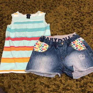 645409d341897 ベビードール(BABYDOLL)のセット売りTシャツ パンツ 120(パンツ