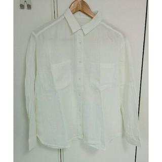 ジーユー(GU)のGU 白シャツ(シャツ/ブラウス(長袖/七分))