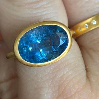 アクアマリンk22 ゴールドリング検索 マリーエレーヌ ジェムパレス (リング(指輪))