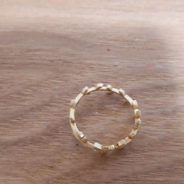 葉っぱのゴールドリング レディースのアクセサリー(リング(指輪))の商品写真