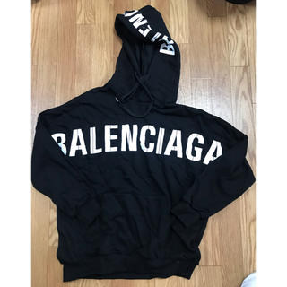 Balenciaga - バレンシアガ パーカー ブラック