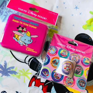 Disney - ディズニー レトロ シリーズ メッセージカード ロールシール 2個セット
