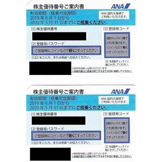 ANA(全日本空輸) - ANA株主優待 2枚セット