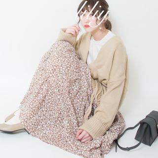 ジーユー(GU)の新品完売♡ティアードフレアロングスカート(ロングスカート)