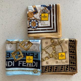 フェンディ(FENDI)のFENDI ハンカチ(3枚セット)(ハンカチ)