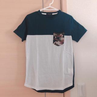 エムエフエディトリアル(m.f.editorial)のTシャツ 迷彩 バイカラー m.f.editorial(Tシャツ/カットソー(半袖/袖なし))