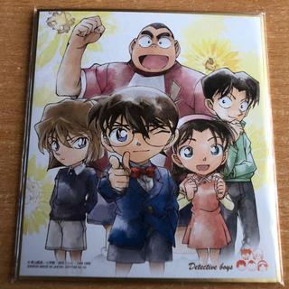 ショウガクカン(小学館)の少年探偵団ミニ色紙(キャラクターグッズ)