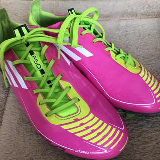 アディダス(adidas)の美品!アディダス F50 サッカースパイク 23cm(シューズ)