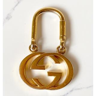 306254653568 グッチ(Gucci)のGUCCI オールドグッチ インターロッキング キーホルダー キーリング (キーホルダー)