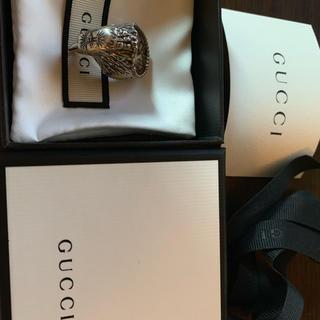 グッチ(Gucci)のGucci イーグルヘッド シルバー リング 15号(リング(指輪))