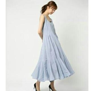 ノーブル(Noble)のmariha 海の月影のドレス マキシ ワンピース ブルー マリハ(ロングワンピース/マキシワンピース)