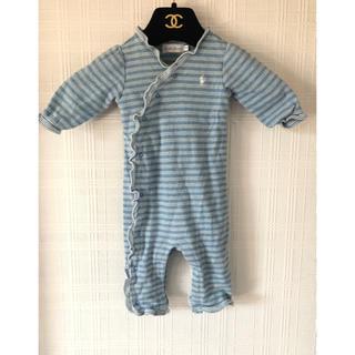 ラルフローレン(Ralph Lauren)のラルフローレン ベビー服 ロンパース 60サイズ(ロンパース)