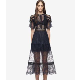 セルフポートレイト(SELF PORTRAIT)のSELF-PORTRAIT ワンピース ドレス(ミディアムドレス)