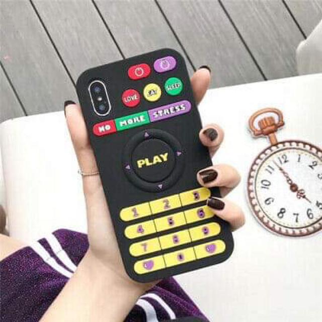 バンパー ケース iphone8 / リモコン デザイン  iPhone 8/XS/XR/MAX ケース、カバーの通販 by happy2013|ラクマ