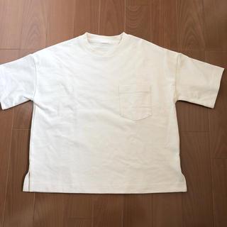 ジーユー(GU)のGU ヘビーウェイトT(5分袖)(Tシャツ(半袖/袖なし))
