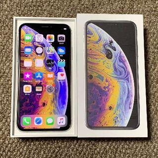 Apple - simフリー iPhoneXS 256GB 超美品 お得!APケア+来年10月迄