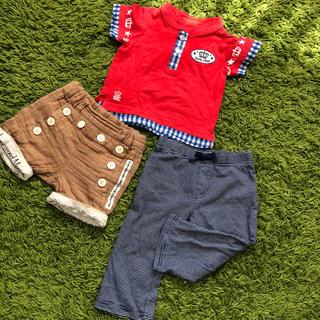 34dde6be5b51 ベビードール(BABYDOLL)の90サイズ まとめ売り 男の子 半ズボン(Tシャツ
