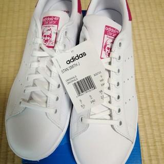 adidas - アディダス スタンスミススニーカー ホワイト ピンク 新品未使用★ 24.0㎝