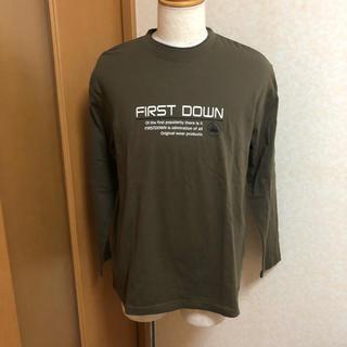 しまむら - FIRST DOWN 長袖 Tシャツ オリーブグリーン