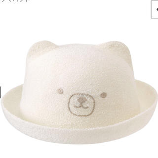 b7a9939e3d186 コンビミニ(Combi mini)のcombi mini クマハット サイズ46センチ(帽子)