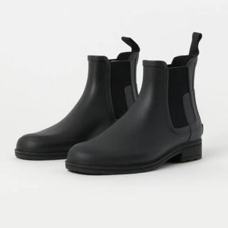 ハンター(HUNTER)のHUNTER ハンター リファインド チェルシーブーツ UK8 新品(長靴/レインシューズ)