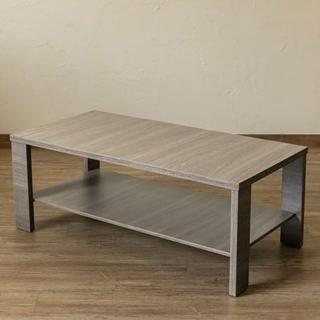 センターテーブル ローテーブル シンプル 北欧 アンティークブラウン(ローテーブル)