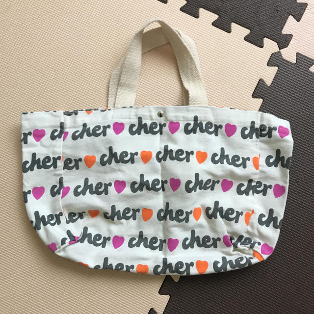 Cher(シェル)のcher トートバッグ 付録 レディースのバッグ(トートバッグ)の商品写真