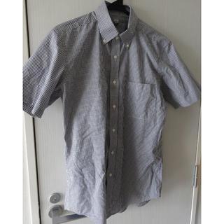 ユニクロ(UNIQLO)のユニクロ ギンガムチェック 半袖シャツ■送料込(シャツ)