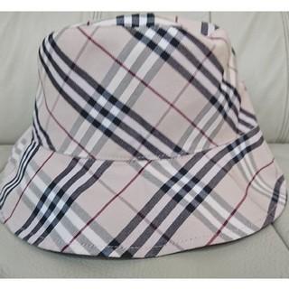 バーバリーブルーレーベル(BURBERRY BLUE LABEL)のバーバリー burberry リバーシブル ハット 帽子(ハット)