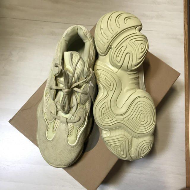 adidas(アディダス)のYEEZY500 SUPERMOON YELLOW イージー 500 メンズの靴/シューズ(スニーカー)の商品写真